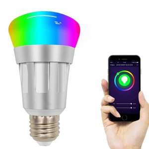 Simple Wireless Wi-Fi Remote Control Smart Bulb RGB (Works with Google Home / Alexa) £7.73 Delivered @ Gearbest
