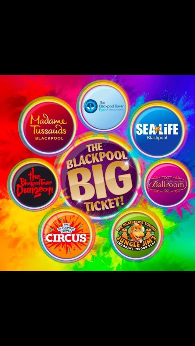 50% off Blackpool big ticket - adults £45 - children £32.50 @ Attractiontix