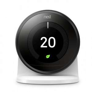 Nest-Black-3RD-Generation-Smart-Learning-Thermostat-and-3RD-Generation-Stand £179.28 @ Travis Perkins