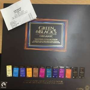 Green and Black's Tasting Collection £5.50 - Tesco Clay Cross
