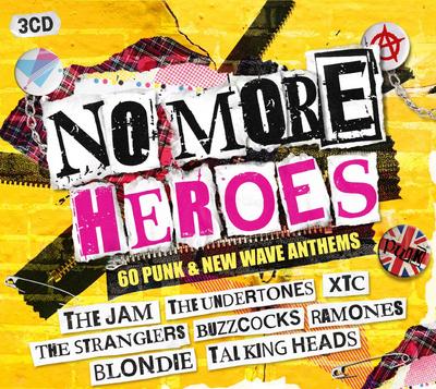 No More Heroes: 60 Punk & New Wave Anthems (3 CD Boxset) £5.99 @ HMV