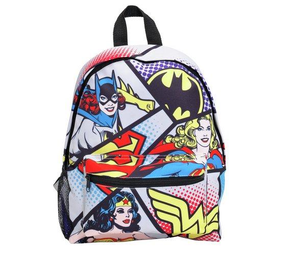 DC Superheroes Backpack - £8.99 @ Argos