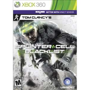 Splinter Cell Double Agent & Blacklist - Xbox One BC now - from £2 (+£1.50 P&P) used @ CEX