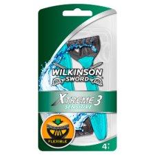 Wilkinson Sword Xtreme 3 Sensitive Razor (4) Was £4 Now £2 @ Tesco
