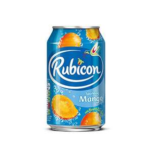 Rubicon sparking mango juice drink 24x330 ml £7.50 amazon pantry £2.99 delivery for first box 99p after