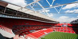 75 minute guided tour of Wembley Stadium valid until September 30th for 2 people £19 @ Travelzoo