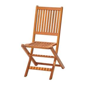 Austin Wooden Folding Wooden Chair (Pack of 2) for £23.95 delivered @ Homebase