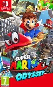 Super Mario Odyssey Nintendo Switch @ BidCity eBay for £35.99