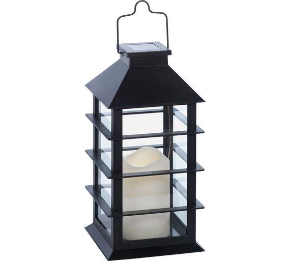 Solar Lantern Light - Black £8.66 @ Argos C&C