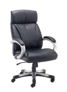 Office Hippo Boulder Heavy Duty Executive Office Chair, 24 Hour Use, 152 kg Weight Tolerance £109.50 @ Amazon