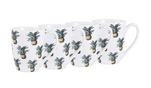 4 X pineapple design mugs now £3.30 ( other available ) @ Asda C+C