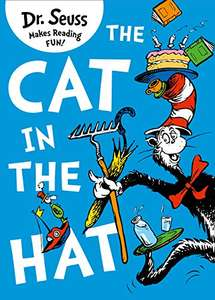 The Cat in the Hat book by Dr Seuss - £1.99 prime / £4.98 non prime Amazon