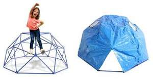 Sportspower dome climber climbing frame with cover to turn it into a den now £37.95 delivered @ George Asda