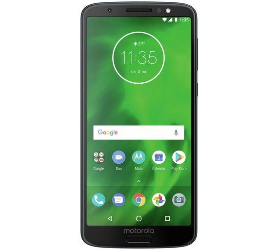 Sim Free Motorola Moto  G6 reduced £199.95 at Argos