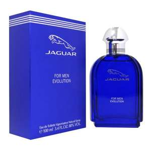 Jaguar For Men Evolution Eau de Toilette Spray For Him,100 ml  £11.95 prime / £16.44 non prime @ Amazon