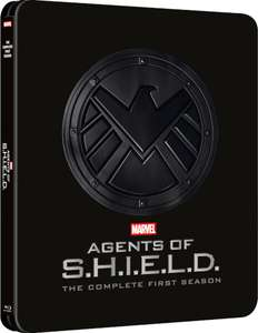 Preorder Marvel Agents of S.H.I.E.L.D The Complete First Season - Zavvi Exclusive SteelBook £24.99