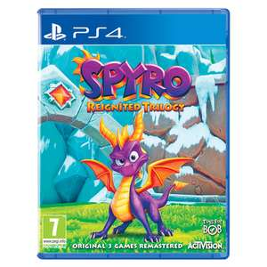 Spyro Trilogy Reignited (PS4/Xbox One) £25.49 (Using Code) Delivered (Preorder) @ Monster-shop