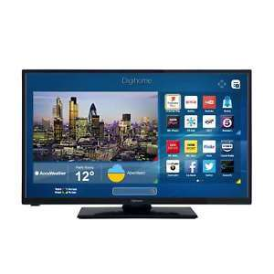 Digihome 32273SFVPT2HD 32 Inch HD Ready Integrated WiFi Smart LED TV in Black £143.20 @ Coop eBay