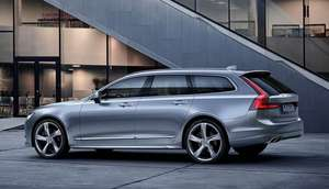 Volvo V90 Diesel Estate: Initial payment of £2,408 plus 17 payments of £267.59 plus £234 doc fee