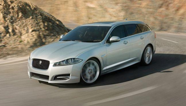 Jaguar Xf Sportbrake: Initial payment of £2203.09 plus 23 payments of £244.79 plus £234 doc fee £8073.28 @ Select Car Leasing