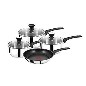 Tefal Jamie Oliver 4pc Stainless Steel Pan Set - £59.99 @ Amazon / Dispatched from and sold by SelectiveGoods.