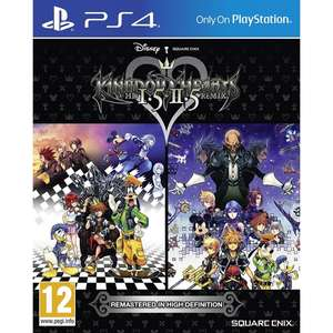 Kingdom Hearts HD 1.5 & 2.5 Remix PS4 £18.99 Delivered @ 365 Games