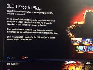 Call of Duty Black Ops III DLC 1 Awakening. Free to play till 28th August