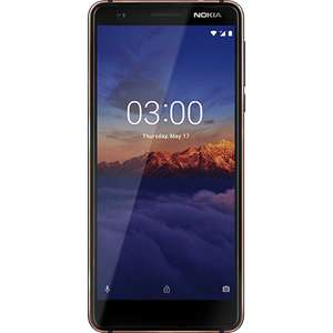 Introductory price apparently - Nokia 3.1 - Tempered Blue - 16gb  - £99 @ o2