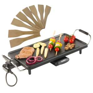 VonShef large Teppanyaki table top grill / bbq with 2 year guarantee great reviews £19.99 or XXL one £27.99 delivered with code @ eBay sold by domu-uk