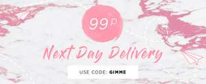 99p Next Day Delivery with code @ Public Desire