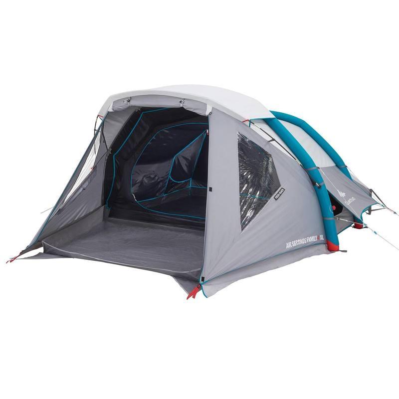 Quechua AIR SECONDS 4 XL FRESH & BLACK 4 Man Tent £159.99 at  Decathlon