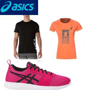 Up to 50% off Sale + Extra 20% with code and Free Del @ Asics - E.G Kids Kanmei GS £16