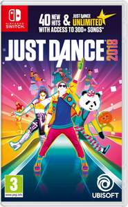 Just Dance 2018 Nintendo switch £19.85 Shopto