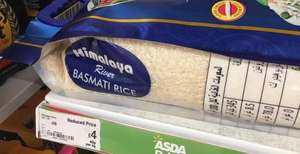 Himalayas basmati rice 10kg £4 instore only in Asda stopsley LUTON
