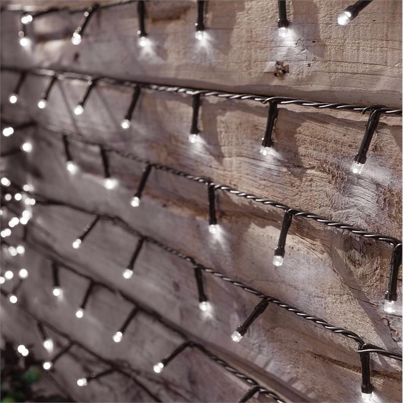 Lightware 400 LED Solar String Lights at Homebase £7.00