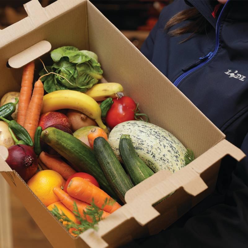 Lidl 5kg 'Fruit and veg box' £1.50