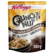 Kelloggs Crunchy Nut Chocolate Oat Granola 380G @ Tesco for £1.49