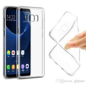 Samsung Galaxy S8 Slim Transparent Silicone case/cover FREE POSTAGE