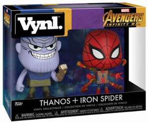 Funko Vynl Thanos and Iron Spider Spiderman figures - £9.99 / £13.98 delivered @ EMP