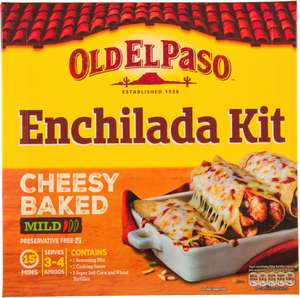 Old El Paso Cheesy Baked Enchilada Kit (663g) - £1 instore @ Heron Foods