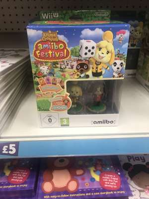 Animal crossing amiibo festival £5 Poundland Newcastle