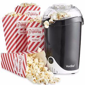 Electric Von Shef Popcorn Maker £10.39 Delivered at Domu on eBay