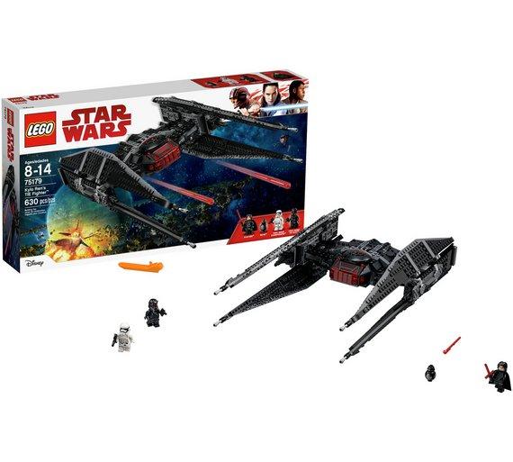 LEGO Star Wars The Last Jedi 75179 Kylo Ren's TIE Fighter £44.99 @ Argos