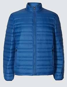 M&S collecion Down & Feather Jacket with Stormwear M&S £5.89 free C&C