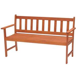 FSC Wooden Garden Bench reduced to clear £30  @ Homebase