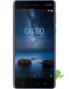 Nokia 8 128GB / 6GB. Glossy Blue with 1 Month Contract £239.99 at Carphone Warehouse / CPW