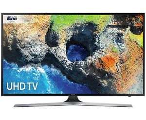 Samsung 50MU6120 50 Inch 4K Ultra HD HDR Freeview Smart WiFi LED TV - Black Manufacturer refurbished £194.29 w/code @ argos ebay