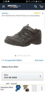 Skechers Girls back to school shoes from £14.65 Prime / £19.14 Non Prime @ Amazon