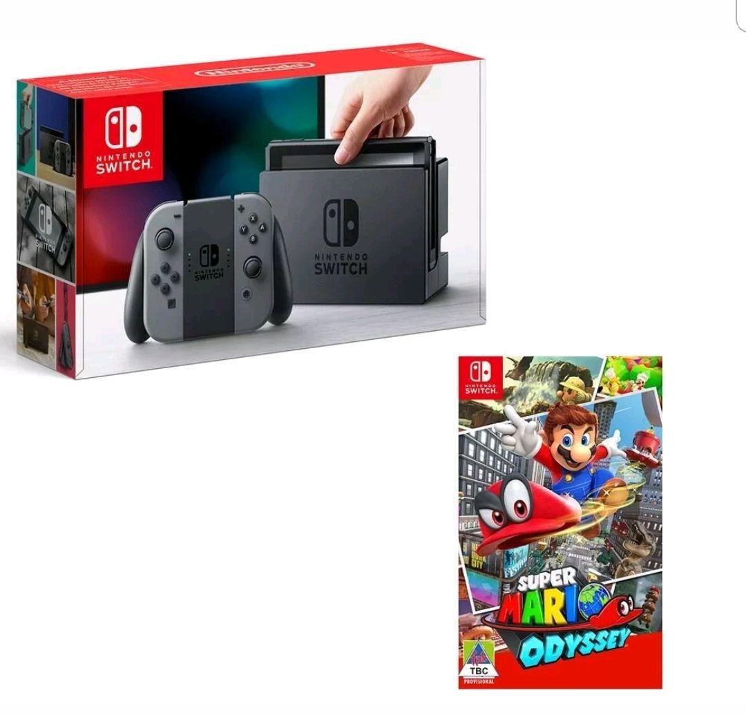 NINTENDO Switch & Super Mario Odyssey Bundle £269.99 @ currys/pc world Ebay