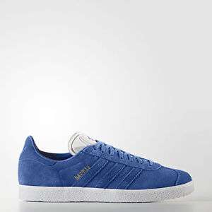 Adidas originals blue mens Gazelle £33.72 (Cream / gum sole Samba £35.97 also) delivered  @ Ebay / seller adidas_official_uk with code  PICKANY